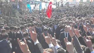 Başbuğ Alparslan Türkeş 4nisan2016 Anıt mezarı MHP devlet bahçeli ülkücü hareket