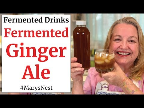 Fermented Ginger Ale Recipe A Probiotic Rich Homemade Soda for Good Gut Health