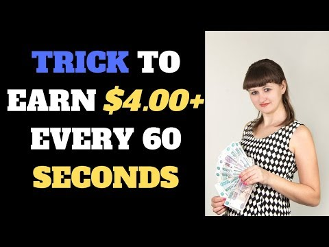 Earn $4.00+ Every Min Right NOW With No Investment (Income Proof)