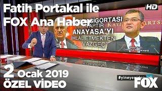 Saadet Ten De Yıldırım A Istifa çağrısı Geldi 2 Ocak 2019 Fatih Portakal Ile FOX Ana Haber