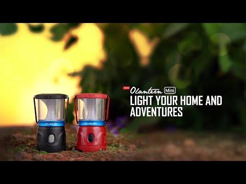 Lampu Camping Olight Olantern Mini Lentera LED Rechargeable