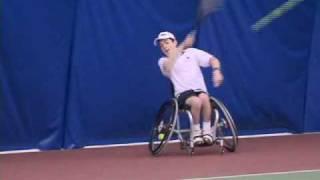 Fixed Wheelchair Tennis Training Video