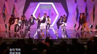 Super Junior - Sorry Sorry Special Adition @ Sbs Inkigayo 인기가요 090503