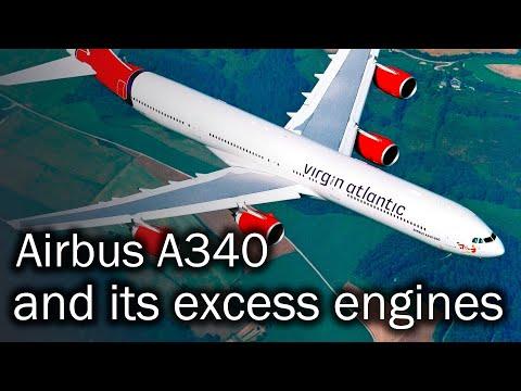 Airbus A340 - 20th century European flagship