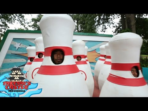 Bowling Bowling Lucu di Takeshi's Castle Indonesia (25/4)