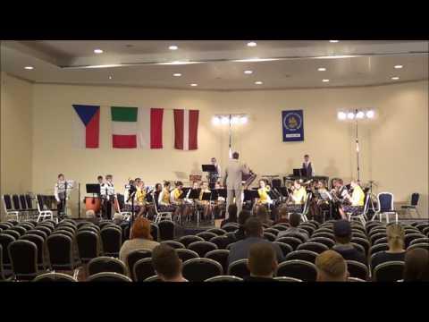 """Mezinárodní soutěž dechových hudeb PRAHA 2017 - Lotyšsko SIGULDA YOUTH WIND ORCHESTRA """"SILVERSOUND"""""""