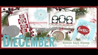 Simon Says Stamp DieCember® 2017 Release & Review!!