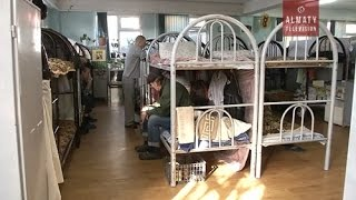 Как живут бомжи в Алматы? (10.10.16)