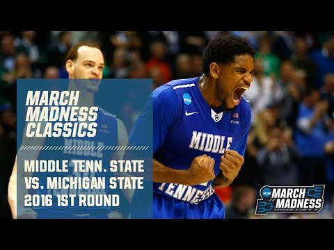 Middle Tennessee State Vs. Michigan State: 2016 First Round | FULL GAME
