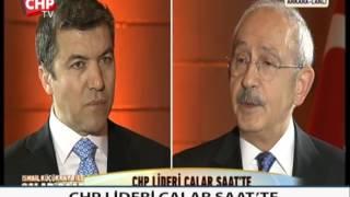 CHP LİDERİ ÇALAR SAAT'TE 19/01/2017