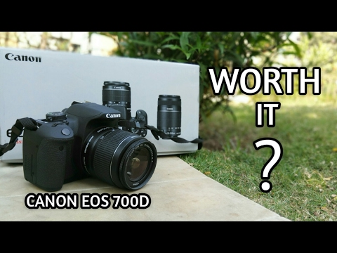 Canon EOS 700D : Unboxing & Review With Samples