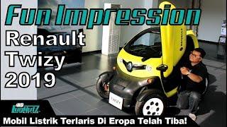 Mobil Listrik TERLARIS DI EROPA Telah Tiba! - Renault Twizy FUN IMPRESSION | LugNutz Indonesia
