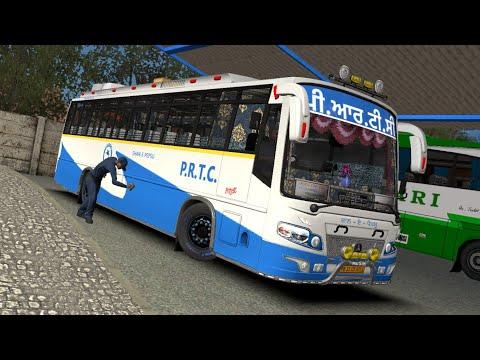 PRTC SHAN-E-PEPSU bus on ETS 2 Roads | an idot Bus Driver on the road | MEIK Beta map