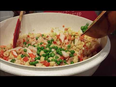 How to Make: Pasta Shrimp and Crab Meat Salad
