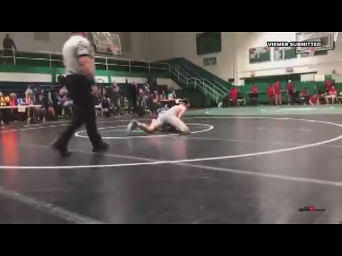 Curtis - Father Rushes Student During A High School Wrestling Match