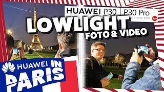 Huawei P30 Pro - Lowlight Foto- und Videotest in Paris