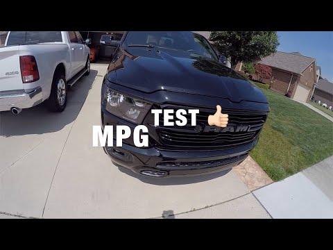 2019 RAM 1500 5.7 HEMI MPG Test Highway Miles per gallon