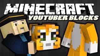 Minecraft | I STOLE STAMPYLONGHEAD (Youtuber Heads Mod Showcase)