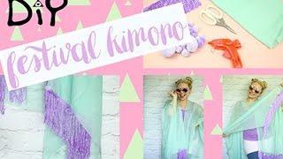 DIY festival kimono