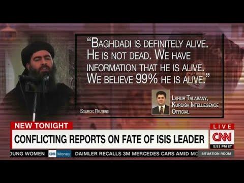 Baghdadi: dead or alive?