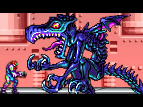Metroid Fusion - All Bosses (No Damage)