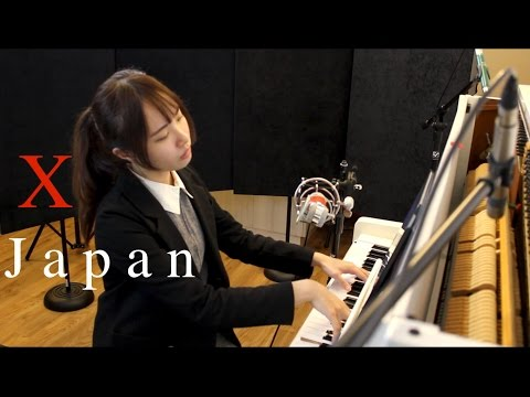 ''X Japan'' 組曲 piano cover-「Endless Rain ,Longing,Tears,Forever love,紅」