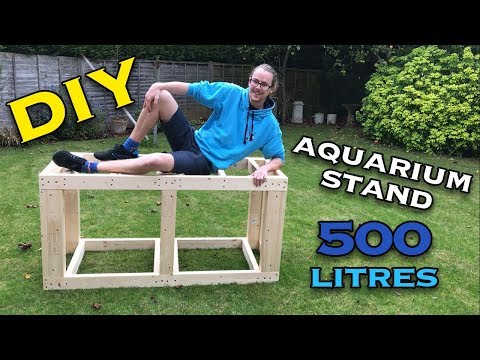 Building An Aquarium Stand (5'x2'x2') - Part One