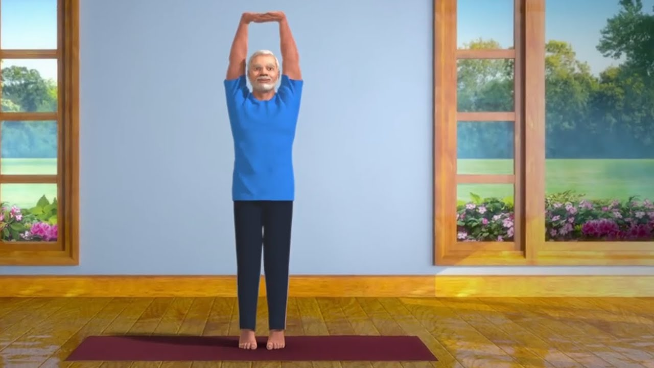 Yoga with Modi: Indian PM releases online yoga series