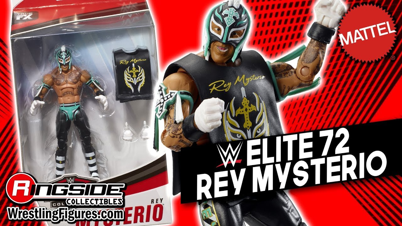 WWE MATTEL SERIES ELITE 72 REY MYSTERIO BRAND NEW OUT OF PACKAGE