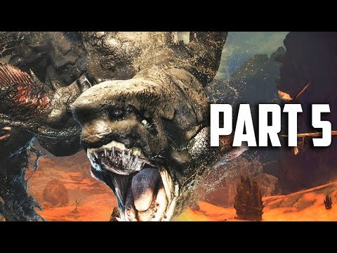 HUNT THE MUD BEAST! Monster Hunter World Gameplay Part 5 - FULL GAME Walkthrough Part 5 (PS4 PRO)