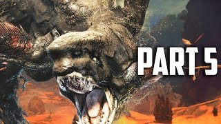 HUNT THE MUD BEAST! Monster Hunter World Gameplay Part 5 - FULL GAME Walkthrough Part 5 (PS4 PRO)