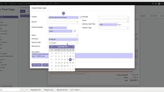Generate multiple delivery order from sale delivery dates in odoo