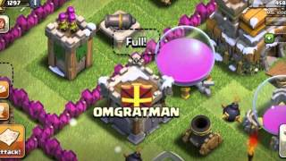 jmikysa Clash of Clans defence ' OMGRATMAN ' Clan