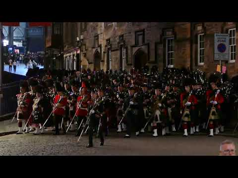 Scotland The Brave/The Black Bear - March Back to Barracks 2016