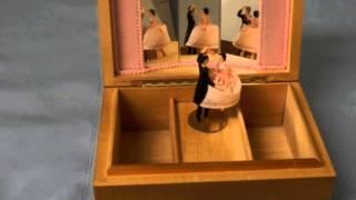 Music Box with Ballroom Dancing Couple - Ballerina Style - Anniversary Waltz