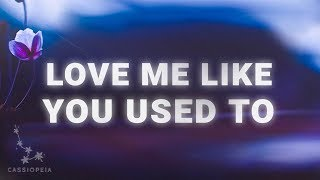 Savannah Sgro - Love Me Like You Used To (Lyrics)