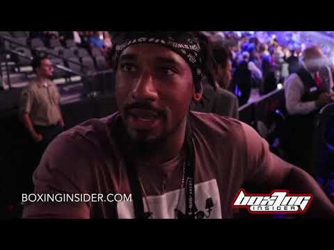 DEMETRIUS ANDRADE ON BILLY JOE SAUNDERS FIGHT FOR THE WBO TITLE & THE TOUGH MIDDLEWEIGHT DIVISION