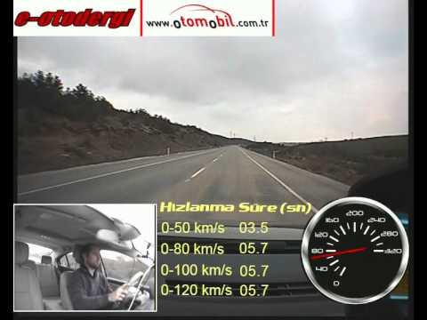 Renault Fluence 1.5 DCi 110 HP EDC (otomatik) Test (0-100 Km/s, 0-120 Km/s, 100-0 Km/s)