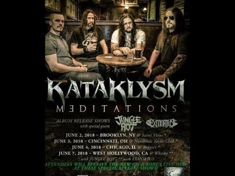 Kataklysm live dates announced for Meditations album release shows!