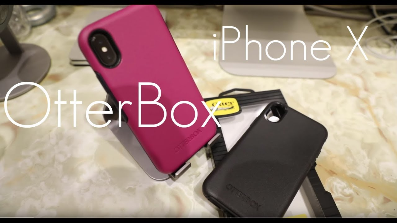 finest selection cf3a4 c46af OtterBox Symmetry Case - iPhone X - Hands on Review