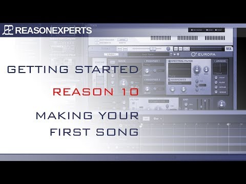 Reason 10 tutorial - making your first song (8 /10)