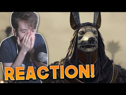 Assassin's Creed Origins | Order of the Ancients Trailer - LIVE REACTION + Thoughts