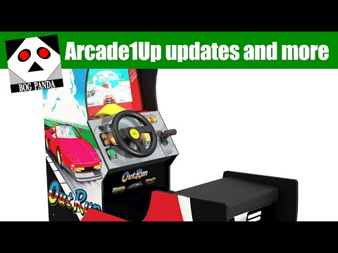 Arcade1Up updates and such from Bog Panda