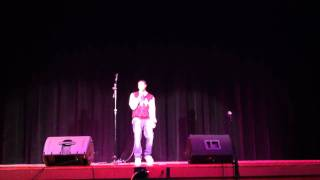 talent show kevan hudson just friends sunny by musiq soulchild cover