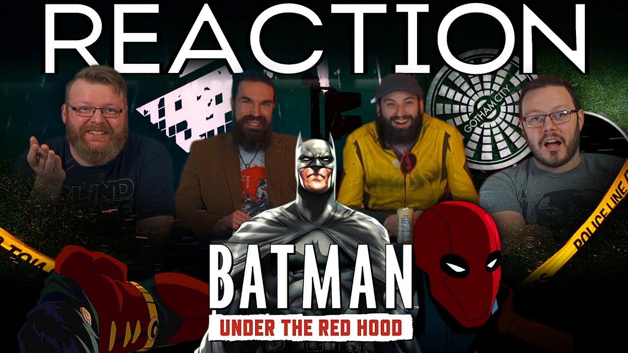 Download Batman: Under the Red Hood (2010) - Movie REACTION!!