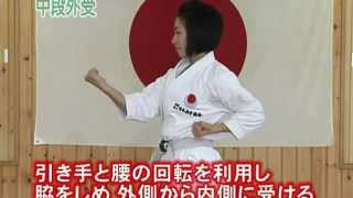karatê Shotokan - Técnicas básicas