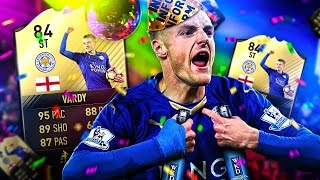 SPECIAL EDITION EXTINCT JAMIE VARDY! THE BRAND NEW WEEKEND LEAGUE SQUAD! FIFA 17 ULTIMATE TEAM