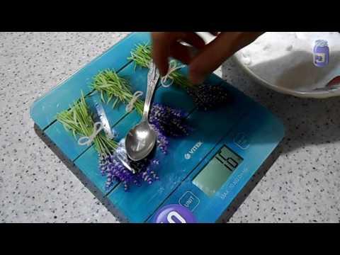 Как отмерить 40 грамм соли