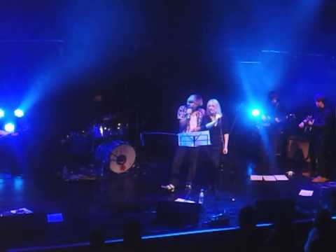 Wendy Smith and Tim Burgess at the Sage, Gateshead, Oct 2013