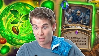 (Hearthstone) One Mana Ultimate Infestations!?